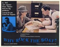 Why Rock The Boat? - 11 x 14 Movie Poster - Style D