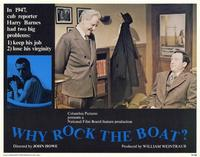 Why Rock The Boat? - 11 x 14 Movie Poster - Style E