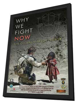 Why We Fight Now - 27 x 40 Movie Poster - Style A - in Deluxe Wood Frame