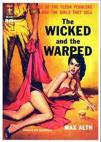 Wicked and the Warped - 11 x 17 Retro Book Cover Poster