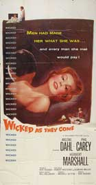 Wicked as They Come - 20 x 40 Movie Poster - Style A