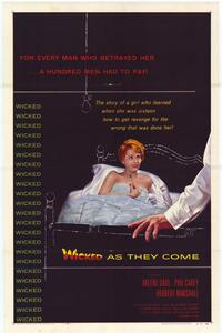 Wicked as They Come - 11 x 17 Movie Poster - Style A