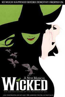 Wicked (Broadway) - 27 x 40 Movie Poster