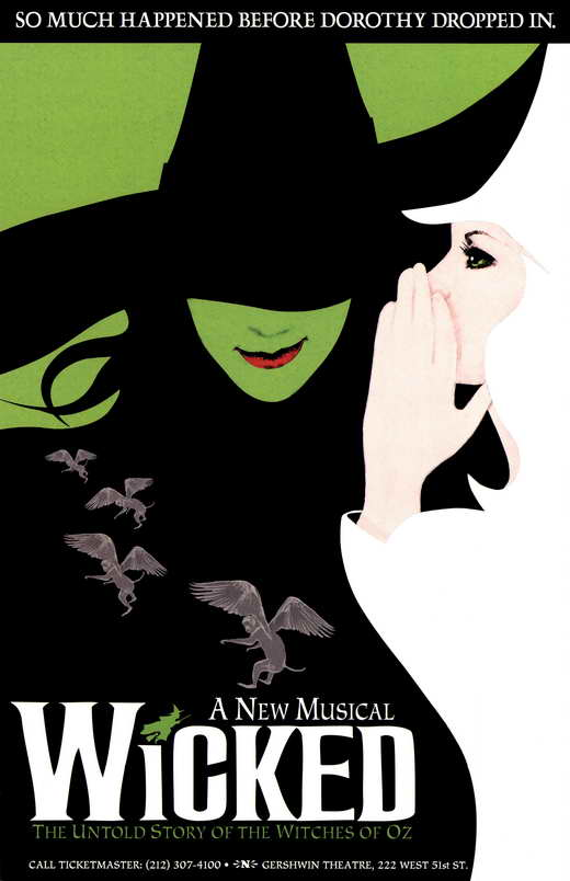 Wicked Broadway Movie Posters From Movie Poster Shop