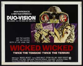Wicked, Wicked - 22 x 28 Movie Poster - Half Sheet Style A