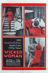 Wicked Woman - 11 x 17 Movie Poster - Style A