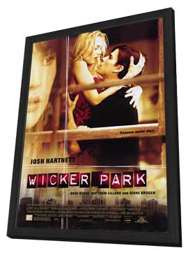 Wicker Park - 27 x 40 Movie Poster - Style A - in Deluxe Wood Frame