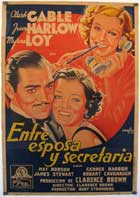 Wife vs. Secretary - 11 x 17 Movie Poster - Spanish Style A