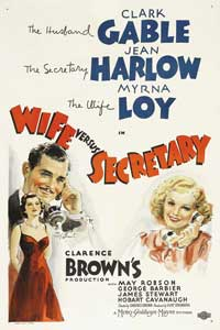 Wife vs. Secretary - 27 x 40 Movie Poster
