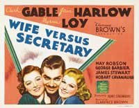 Wife vs. Secretary - 22 x 28 Movie Poster - Half Sheet Style A