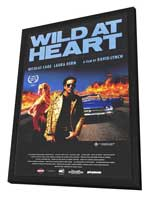 Wild at Heart - 27 x 40 Movie Poster - Style B - in Deluxe Wood Frame