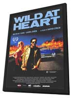 Wild at Heart - 11 x 17 Movie Poster - Style C - in Deluxe Wood Frame