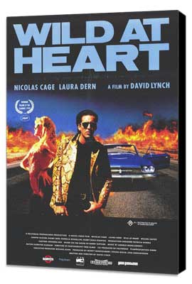 Wild at Heart - 27 x 40 Movie Poster - Style B - Museum Wrapped Canvas