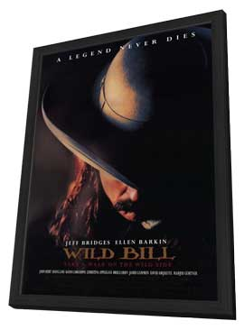 Wild Bill - 11 x 17 Movie Poster - Style A - in Deluxe Wood Frame
