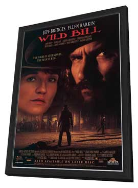 Wild Bill - 27 x 40 Movie Poster - Style B - in Deluxe Wood Frame