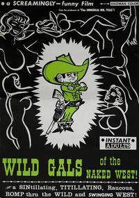 Wild Gals of the Naked West - 11 x 17 Movie Poster - Style B