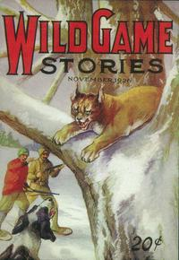 Wild Game Stories (Pulp) - 11 x 17 Pulp Poster - Style A