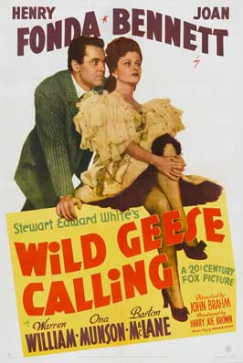 Wild Geese Calling - 11 x 17 Movie Poster - Style A