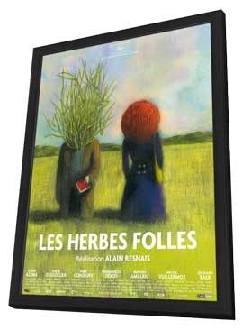 Wild Grass - 27 x 40 Movie Poster - Japanese Style A - in Deluxe Wood Frame