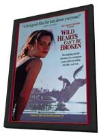 Wild Hearts Can't Be Broken - 27 x 40 Movie Poster - Style B - in Deluxe Wood Frame