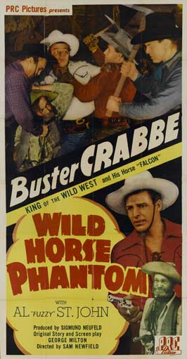 Wild Horse Phantom - 11 x 17 Movie Poster - Style A