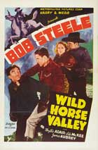 Wild Horse Valley - 11 x 17 Movie Poster - Style A