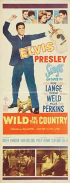 Wild in the Country - 14 x 36 Movie Poster - Insert Style A
