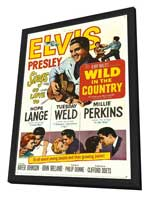 Wild in the Country - 11 x 17 Movie Poster - Style A - in Deluxe Wood Frame