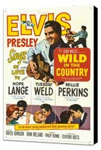 Wild in the Country - 11 x 17 Movie Poster - Style A - Museum Wrapped Canvas