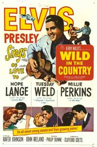 Wild in the Country - 27 x 40 Movie Poster - Style A