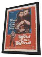 Wild is the Wind - 11 x 17 Movie Poster - Style A - in Deluxe Wood Frame