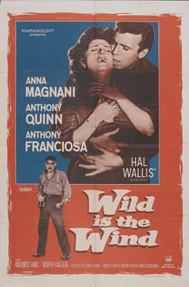 Wild is the Wind - 11 x 17 Movie Poster - Style A
