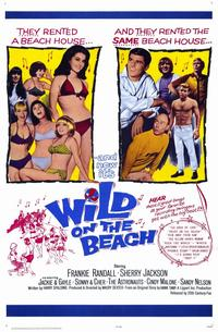 Wild on the Beach - 11 x 17 Movie Poster - Style A
