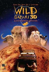 Wild Safari 3D - 27 x 40 Movie Poster - Style B