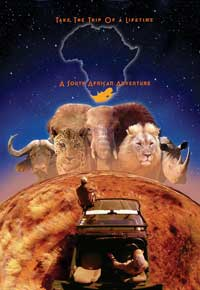 Wild Safari 3D - 43 x 62 Movie Poster - Bus Shelter Style C