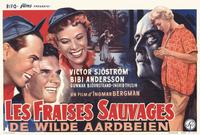 Wild Strawberries - 11 x 17 Movie Poster - Belgian Style A