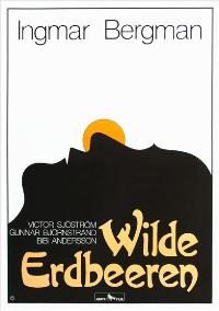 Wild Strawberries - 11 x 17 Movie Poster - German Style A