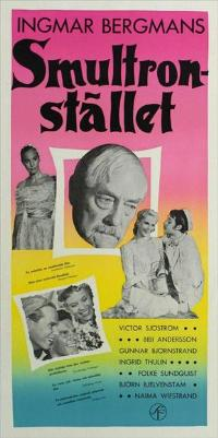 Wild Strawberries - 11 x 17 Movie Poster - Swedish Style A