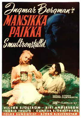 Wild Strawberries - 27 x 40 Movie Poster - Swedish Style A