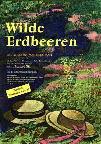 Wild Strawberries - 11 x 17 Movie Poster - German Style B