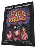 Wild Style - 27 x 40 Movie Poster - Style B - in Deluxe Wood Frame