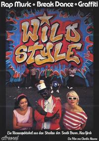Wild Style - 11 x 17 Movie Poster - German Style A
