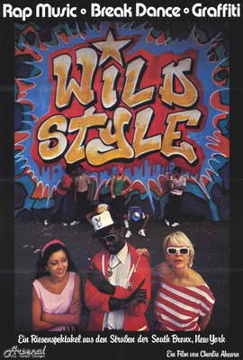 Wild Style - 27 x 40 Movie Poster - Style B