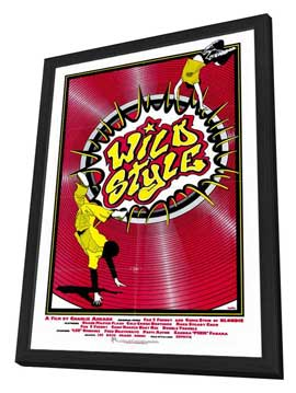 Wild Style - 27 x 40 Movie Poster - Style A - in Deluxe Wood Frame