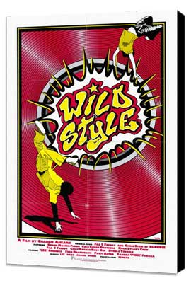 Wild Style - 27 x 40 Movie Poster - Style A - Museum Wrapped Canvas