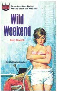 Wild Weekend - 11 x 17 Retro Book Cover Poster