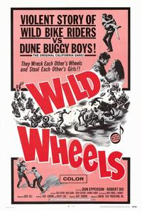 Wild Wheels - 27 x 40 Movie Poster - Style A