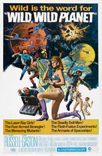 Wild, Wild Planet - 27 x 40 Movie Poster - Style A