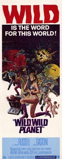 Wild, Wild Planet - 14 x 36 Movie Poster - Insert Style A