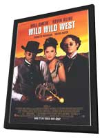 Wild Wild West - 11 x 17 Movie Poster - Style B - in Deluxe Wood Frame